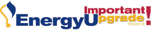 EnergyU v9 Upgrade